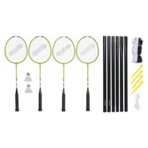 Badminton is fun for the whole family, not just the 4-year-old.