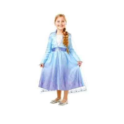 If you are going to give her the frost movie, it is equally good to also give her a blue princess dress as a Christmas present.