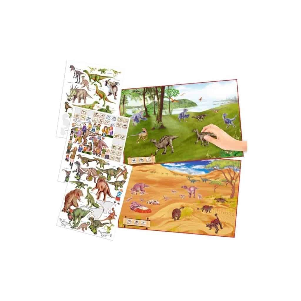 Activity Book Dino World