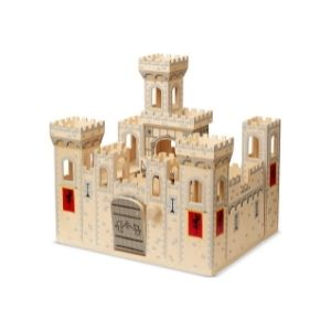 A pirate castle is a nice birthday gift for a 6-year-old