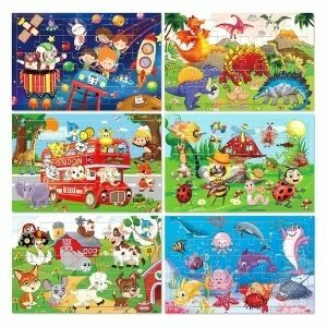 Bamse Puzzle wood is a fun gift to get
