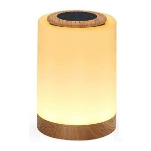 This is a combined lamp and speakers. A great gift to give a 12-year-old's birthday.